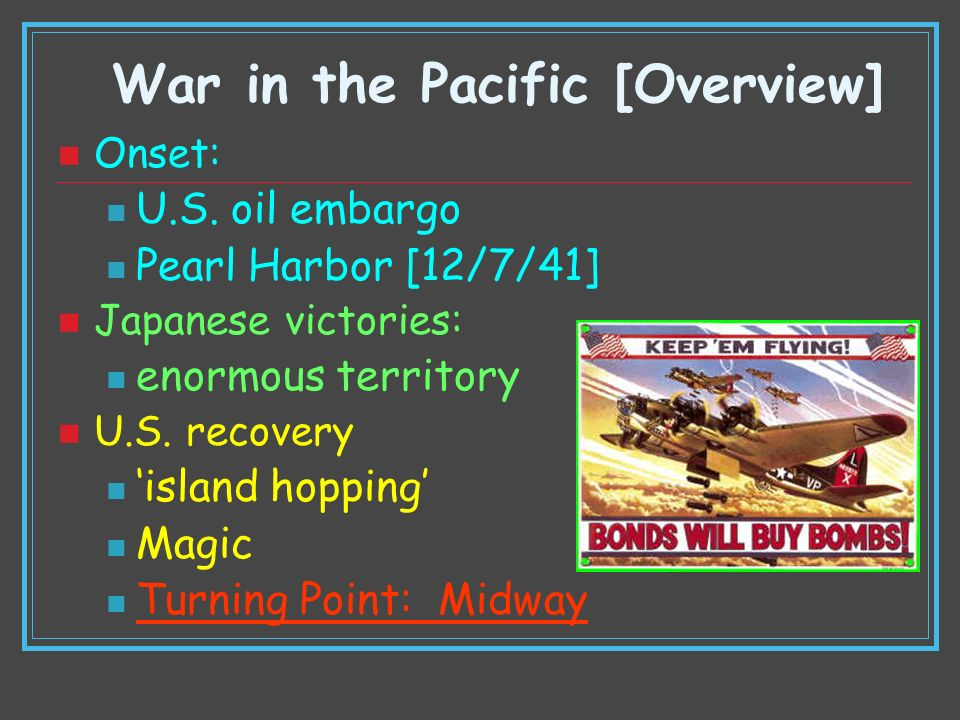 War in the Pacific [Overview]